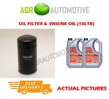 DIESEL OIL FILTER + FS 5W40 ENGINE OIL FOR ISUZU TROOPER 3.1 114 BHP 1991-98