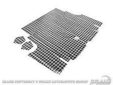 1969-1970 Ford Shelby GT MUSTANG TRUNK MAT - PLAID - FASTBACK ONLY!!