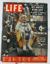 Life (Int 'l edition) Feb. 17, 1958: MAN' S SPACE World
