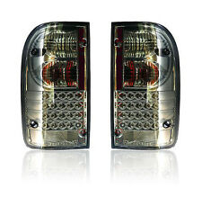 LED TAIL LIGHT REAR LAMP SMOKE LEN TOYOTA HILUX MK4 MK5 98-04 99 00 01 02 03 04