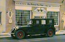 1920 Mercer Limousine, Collection, Bank - Transportation Automobile Car Postcard