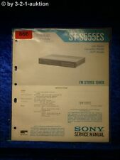 Sony Service Manual ST S555ES Tuner (#0666)