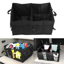 HEAVY DUTY COLLAPSIBLE CAR BOOT ORGANISER BAG FOLDABLE SHOPPING TIDY STORAGE