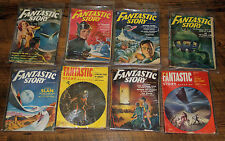 FANTASTIC STORY MAGAZINE (LOT OF 8 ) '51-'52 VINTAGE PULP SCI-FI MAGS *SEXY ART