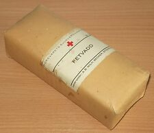 FINNISH WWII / WEHRMACHT BIG PACK OF ARMY MEDIC COTTON WOOL FROM HOSPITAL 1944
