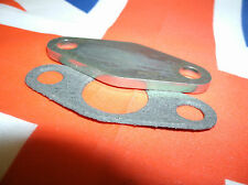 Ford /SAAB V4 petrol pump blanking plate with gasket NOT ESSEX ENGINE.