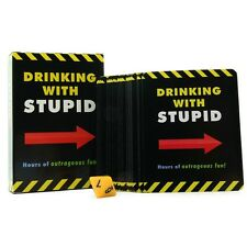 Drinking With Stupid Card Game - Adult Fun Pary Game