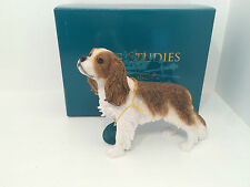 Dog Studies by Leonardo Brown Cavalier King Charles Spaniel Figurine Ornament