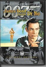 2 DVD ZONE 2 COLLECTOR--JAMES BOND DONTRE DR NO--CONNERY/ANDRESS/LORD/YOUNG