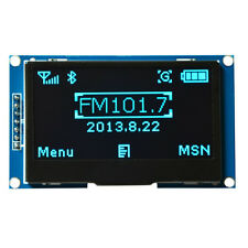 "2.42"" 12864 OLED Display Module IIC I2C SPI Serial FOR Arduino C51 STM32 BLUE"