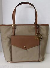 NWT auth MICHAEL KORS Jet Set Item Nylon Large Tote Bag Color Dusk
