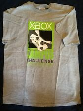 NEW! RARE! Xbox Spring 2007 Campus Challenge Promo T-Shirt - Adult Large