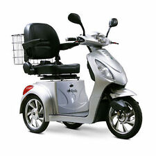 E-Wheels - EW-36 S Three Wheel Electric Mobility Scooter, Silver