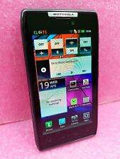 "Motorola Razr XT910 4.3"" 8GB Storage UNLOCKED Black Cellphone Smartphone 8MPx"