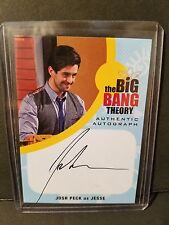 2016 Cryptozoic Big Bang Theory Autograph #JPE1 Josh Peck as Jesse