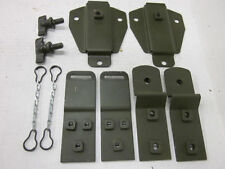 Vintage Willys Military M38 Jeep G740 Top Bow Bracket Set