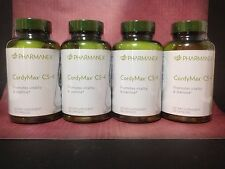 Nu Skin Pharmanex CordyMax Cs-4 x 4, Reducing Fatigue, 120 Capsules, Exp 02/18,