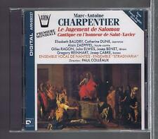 CHARPENTIER CD NEW THE JUDGMENT OF SOLOMON / PAUL COLLEAUX/ ELISABETH BAUDRY