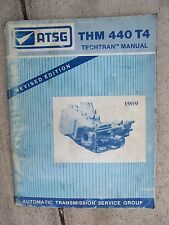 1989 ATSG THM 440-T4 General Motors Automatic Transmission Techtran Manual Car R