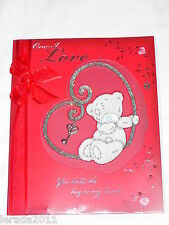 TO THE ONE I LOVE GENERAL VALENTINE CARD ME TO YOU TATTY TEDDY LARGE LUXURY