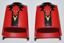 13222 Cuerpo dragón rojo 2u playmobil,body,medieval