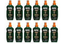 12 Pack Repel 40% DEET Bug Insect Mosquito Repellent Sportsmen Max Spray 94101
