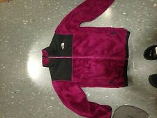 Kids Northface XL PURPLE FURRY JACKET  (Womens S) WORN ONCE LOOKS NEW
