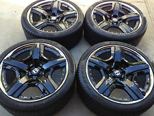 "21"" BENTLEY MULLINER OEM FACTORY BLACK 2-PC WHEELS. FLYING SPUR CONTINENTAL GT."