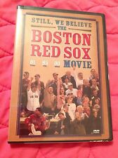 STILL WE BELIEVE: THE BOSTON RED SOX 2004 MOVIE DVD NEW