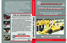 1980 Indianapolis 500, Johnny Rutherford, two different color films on one DVD!