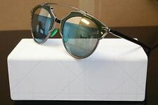 Christian Dior SO REAL Sunglasses Dark Ruthenium Green I1A82 48MM Authentic