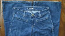 Hudson Jeans Low-Rise, Boot Flare Cut Flap Pockets Dark Wash Size 27 x 29 GUC