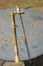 Antique Knights Templer Dress Sword  Saber Highly Detailed Historical Fraternal.
