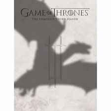 Game Of Thrones - Series 3- Complete (DVD, 2014, 5-Disc Set)-STILL IN SHRINKWRAP