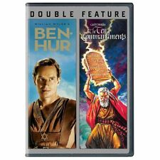 Ben-Hur/The Ten Commandments (DVD, 2013, 4-Disc Set) Charlton Heston NEW