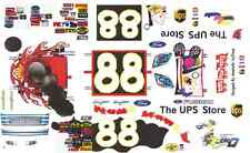 #88 Dale Jarrett Toys for Tots Ford 2006 1/32nd Scale Slot Car Waterslide Decals