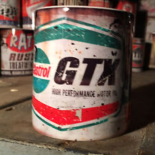 Castrol GTX  oil can Gift Motorcycle Car Mechanic Gift 11oz Tea coffee mug