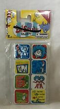 NEW Dr. Seuss 8 Ct Eraser Party Bag Filler Teacher Incentive Stocking Stuffer #3