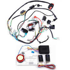 ELECTRICS ATV STATOR 50 70 110 125CC COIL CDI WIRING HARNESS REMOTE START SWITCH