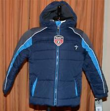 PROTECTION SYSTEM NAVY BLUE PUFFER BUBBLE WINTER JACKET COAT YOUTH BOYS 5/6 NWT