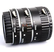 Meike auto focus Metal AF Macro Extension Tube Set for Canon EOS Camera