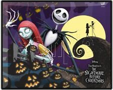 "Nightmare Before Christmas 8""x10"" Fabric Quilt Block Quilting Sewing Square #11"