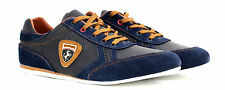Mens Lace Up Leather Shoes Trainers Casual Running Walking Designer Gym JAS Size