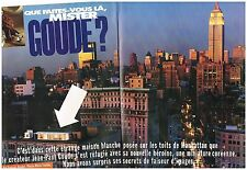 Coupure de presse Clipping 1995 (6 pages) Jean-paul Goude