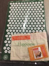 The Green Original Shakti Mat Acupressure With Bag Bed Of Nails Yoga