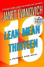 Lean Mean Thirteen by Janet Evanovich  (2009, Hardcover, Large Type)