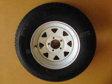 "SUNRAYSIA WHITE 14"" FORD WITH 195 LT TYRE ! Trailer Parts"