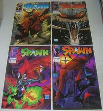 SPAWN #s 1 2 3 4 (Image 1992) 1st appearance of SPAWN & VIOLATOR (VF-) McFarlane