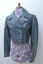 Stunning Original Designer Vintage Couture Calf Leather Jacket by Azzedine Alaia