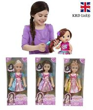 Kids Doll With Dress Hair Play Toy Christmas Birthday Gift Stocking Filler Dolls